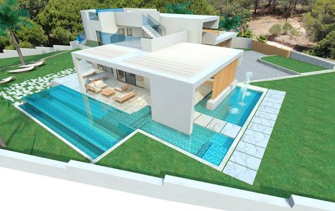 PROJECT DESIGN FOR A 5 BED VILLA NEAR VALE DO LOBO