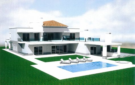 TOP OF THE RANGE 5 BED VILLA BEING BUILT IN VILA SOL
